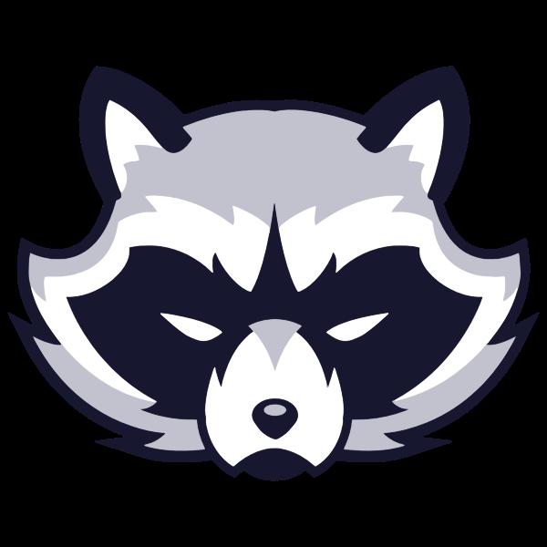 Raccoon Face Logo