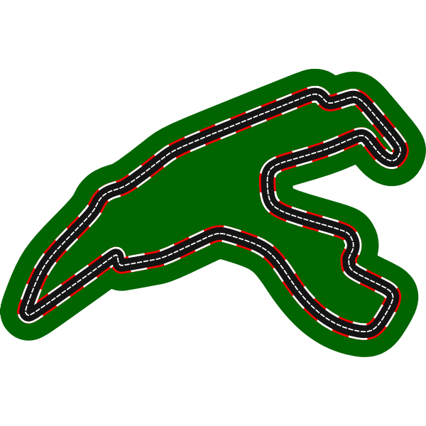 Race Circuit Map