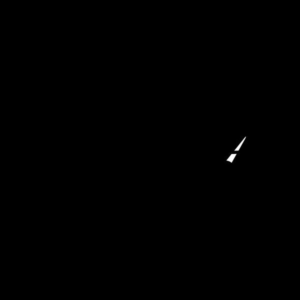 Radio receiver vector clip art