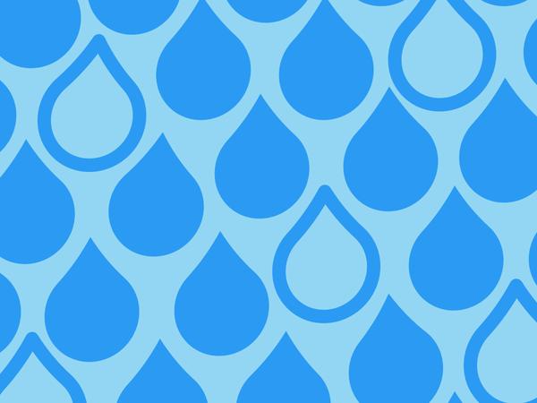 Rain Drops Pattern