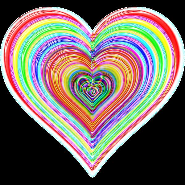 Rainbowrific Heart Enhanced 2