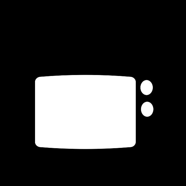 TV silhouette
