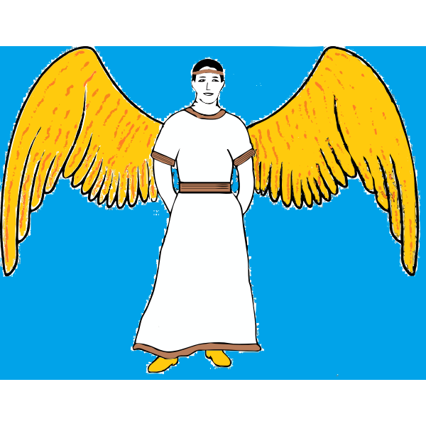 Male angel