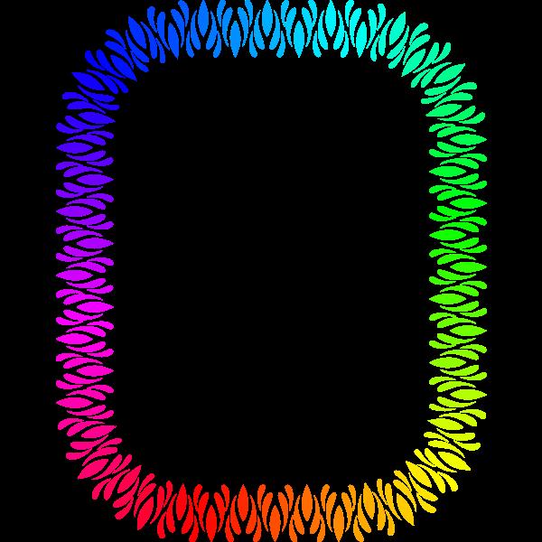 Rectangular Frame Colour