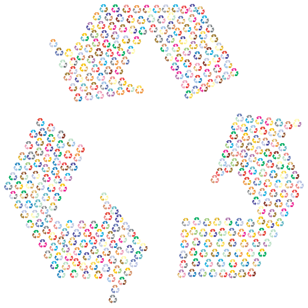 Recycling Fractal Prismatic 2
