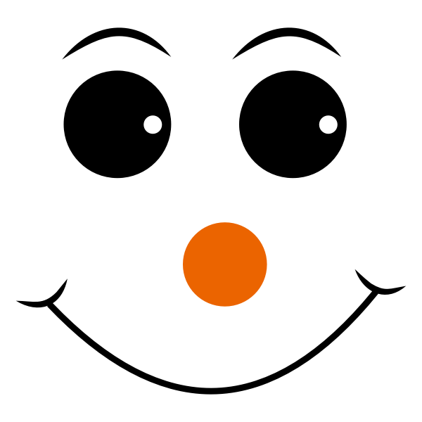 Red Nosed Smiley Face
