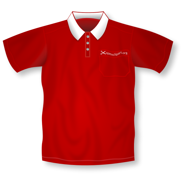 Polo shirt vector illustration