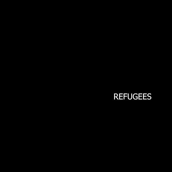Refugee Ship Silhouette