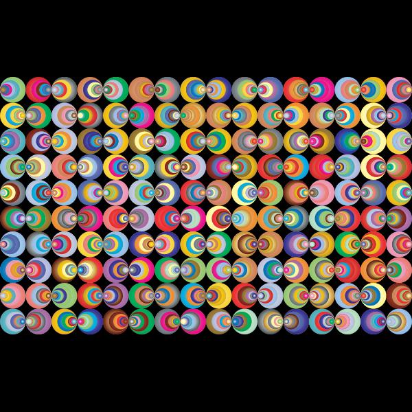 Retro Circles Background 2