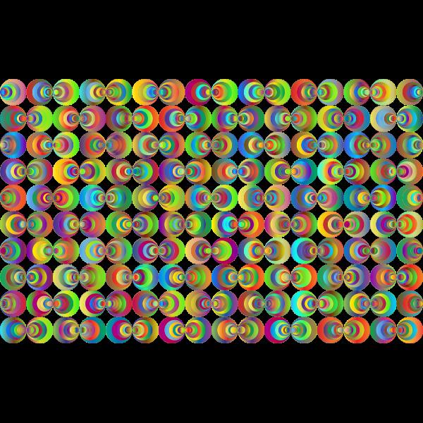 Retro Circles Background 3 No Black