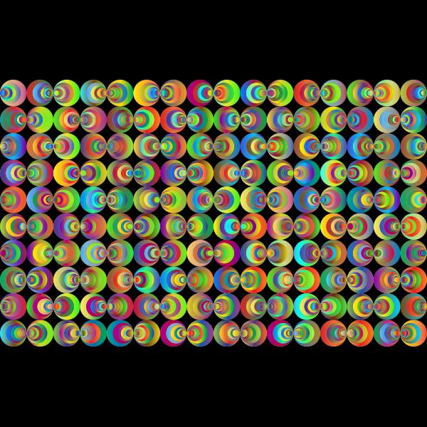Retro Circles Background 3