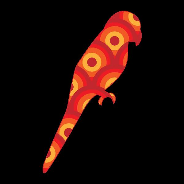 Retro parrot