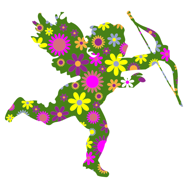 Floral Cupid
