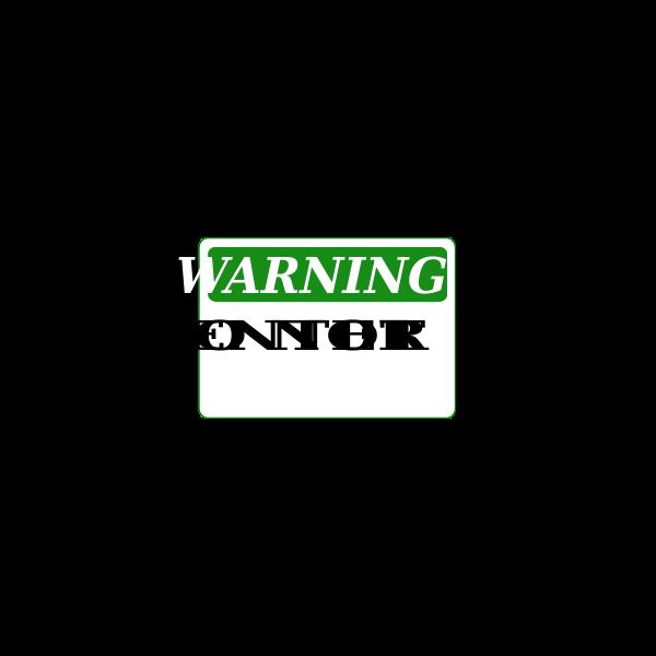 Rfc1394 Warning Do Not Enter Green