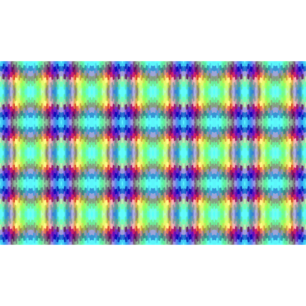 Ribbon Pattern Colourfull