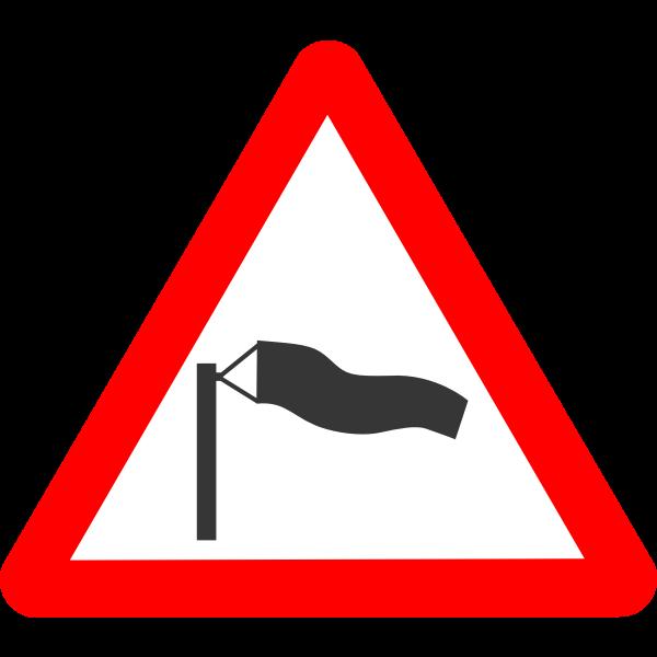 Roadsign crosswind