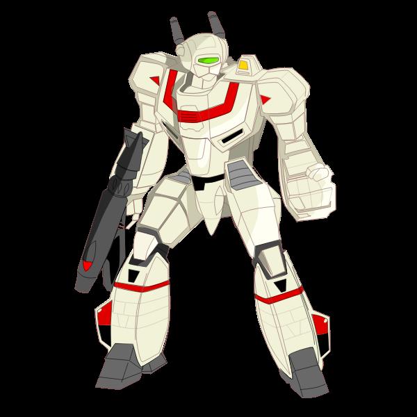 Transformer robot vector graphics