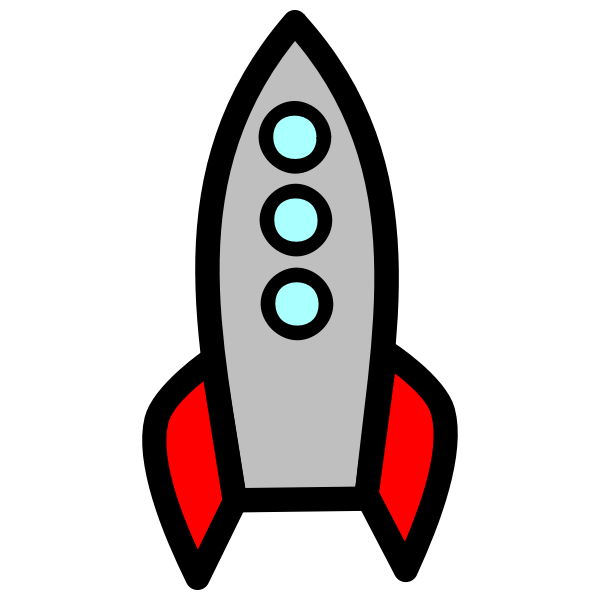 Comic rocket