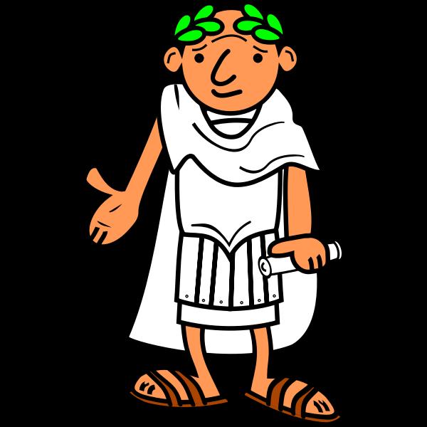 Roman emperor vector graphics