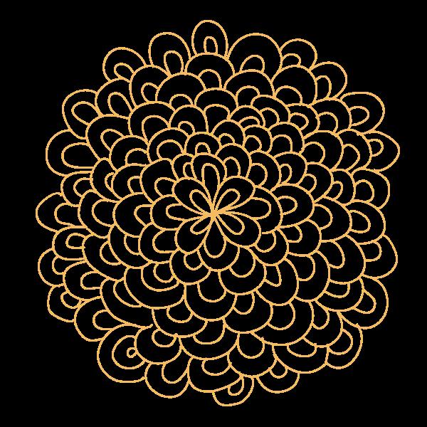 Rosette Flower