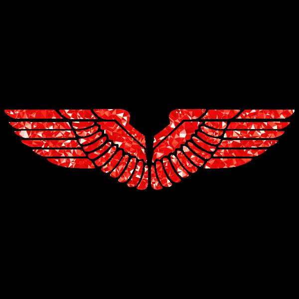 Ruby Eagle Wings