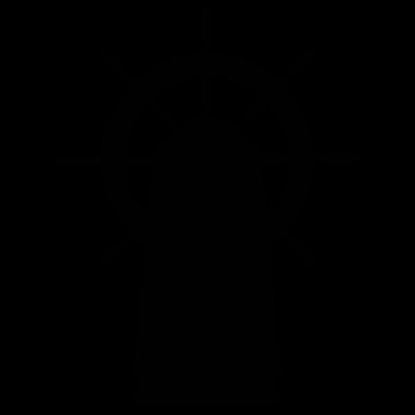Rudder silhouette