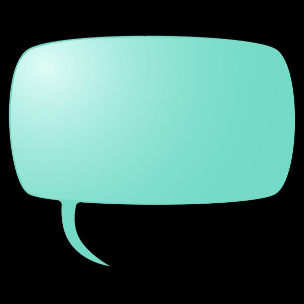 Color speech bubble vector illustration