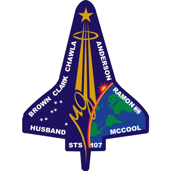 Vector image of STS-107 Flight insignia