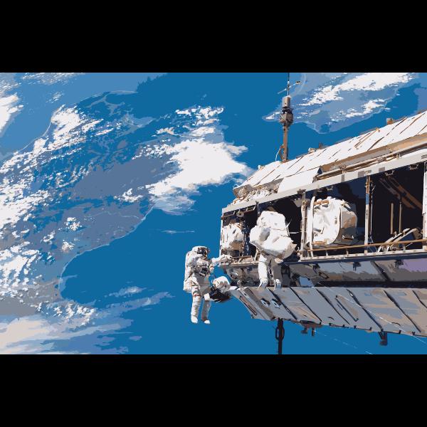 STS 116 spacewalk 1 2016052916