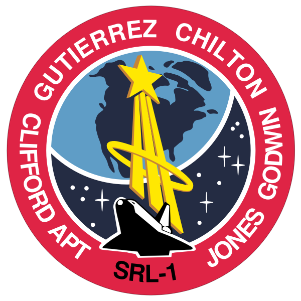Vector illustration of STS-59 mission insignia