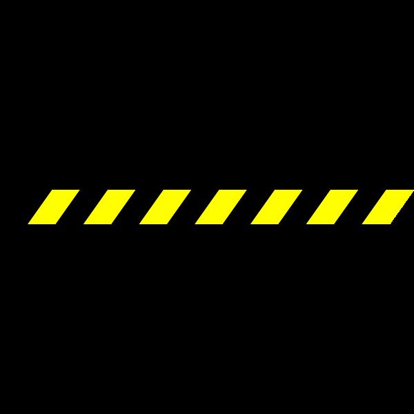Warning Stripe Vector Clip Art