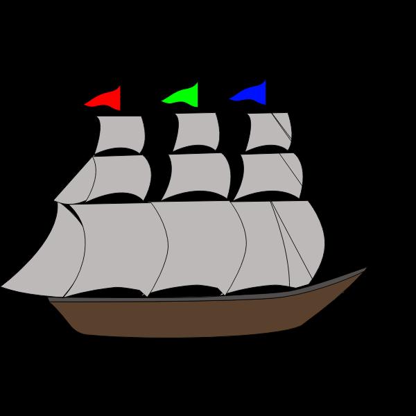 Gray ship