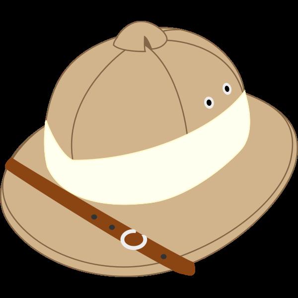 Salakot hat vector image
