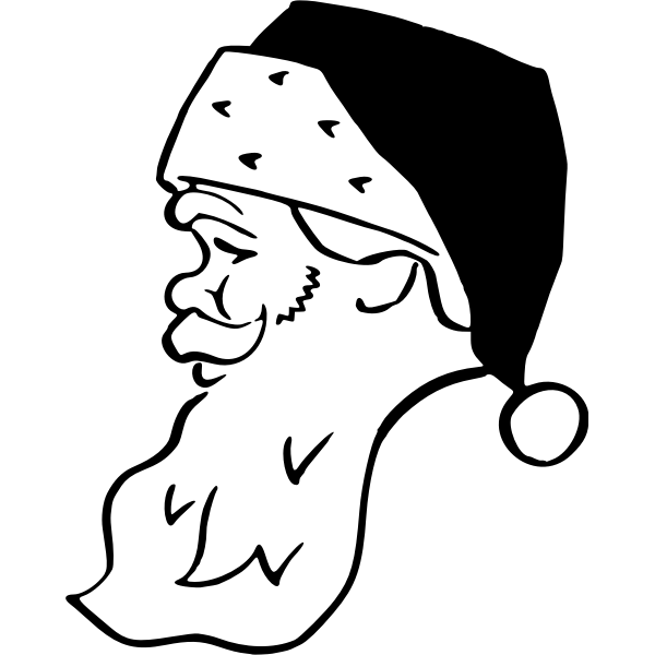 Kris Kringle's portrait