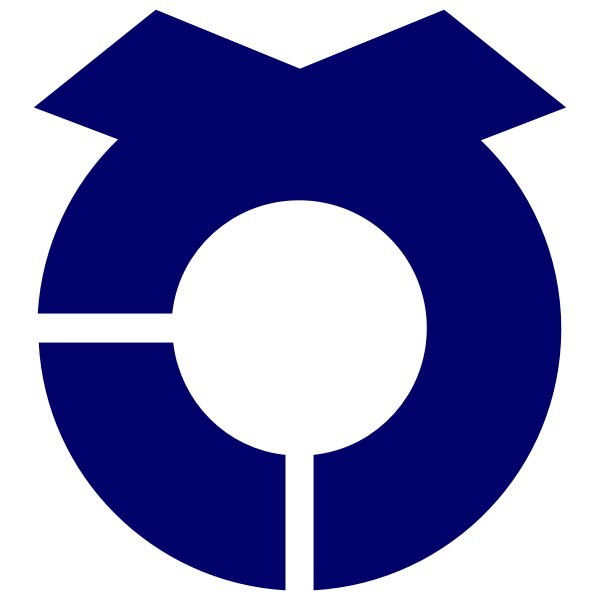 Official seal of Sashima vector illustration