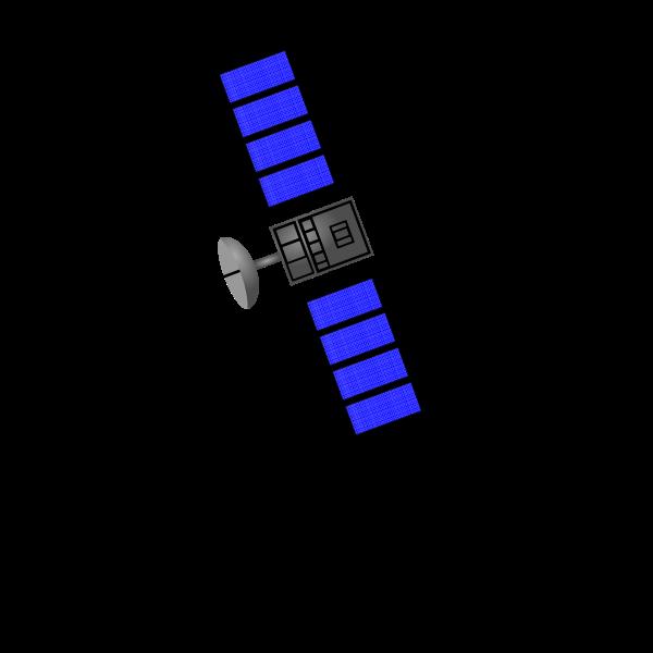 Satelite vector image