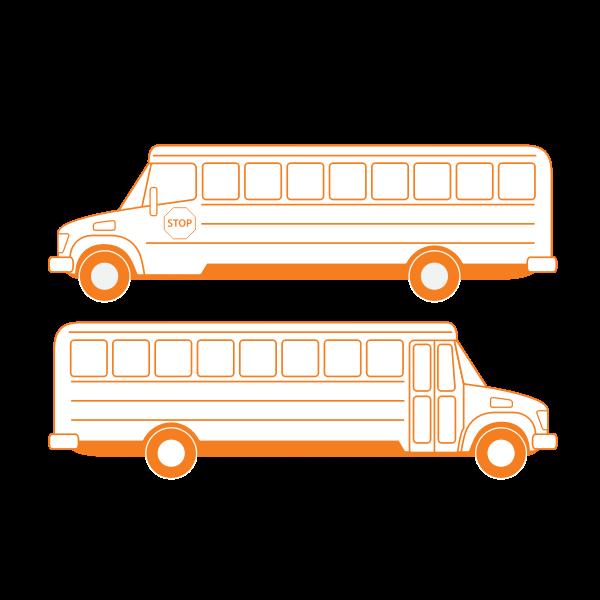 School bus vector drawing