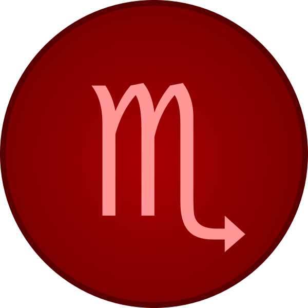 Scorpio symbol | Free SVG