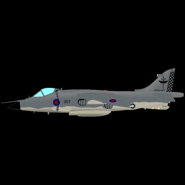 Harrier aircraft