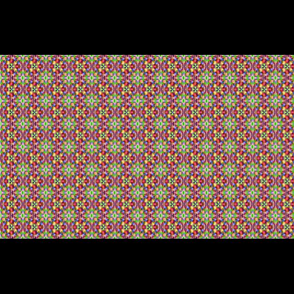 Cubic chromatic pattern