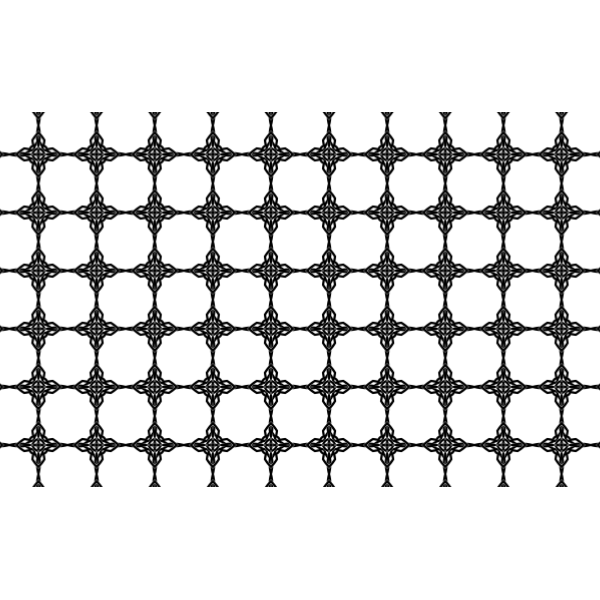 Seamless interlocking pattern