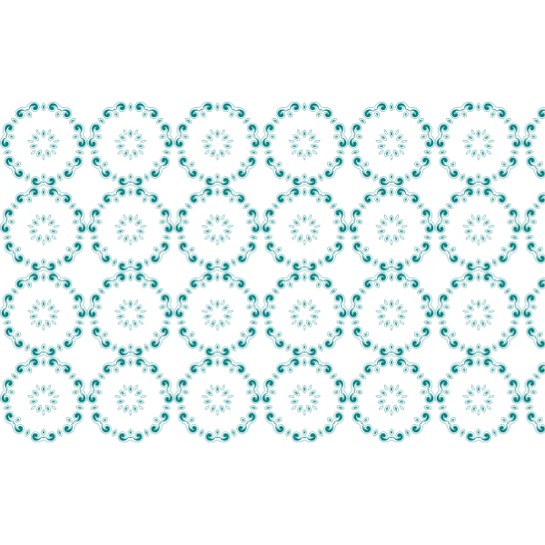 Blue circle vector pattern