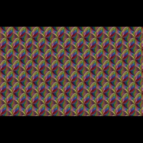 Prismatic line art wallpaper