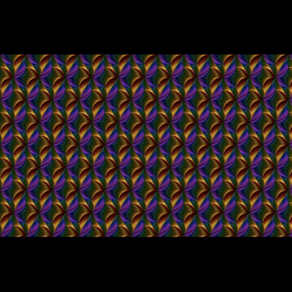 Seamless prismatic pattern