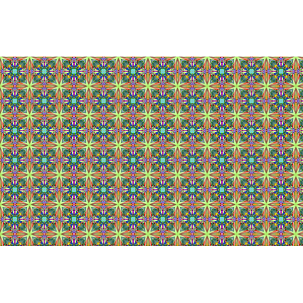 Seamless Psychedelic Pattern 4