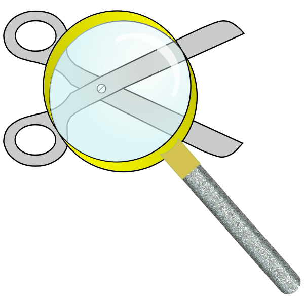 Search for clipart icon vector image