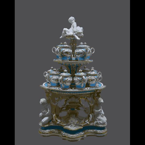 Service dessert Victoria Franz Joseph Vienna inv 191 2016122153