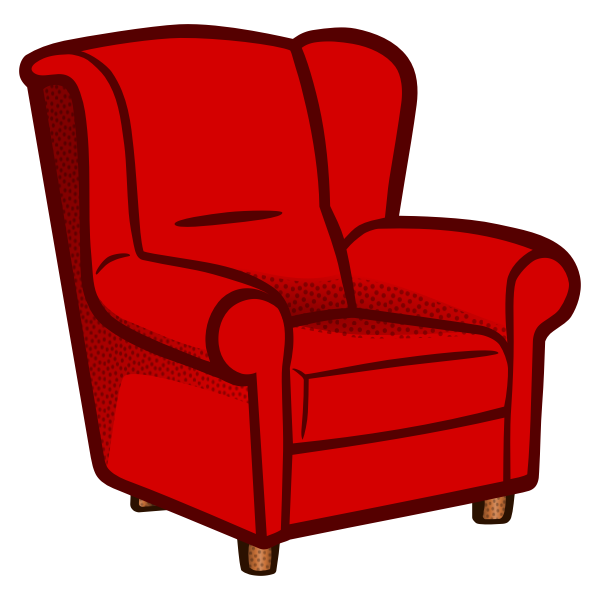 Colored armchair