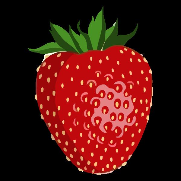 Shiny strawberry