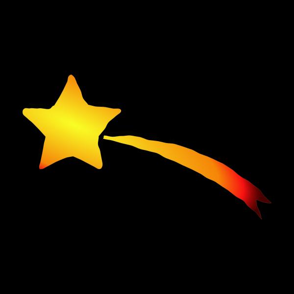 Shooting Star Free Svg